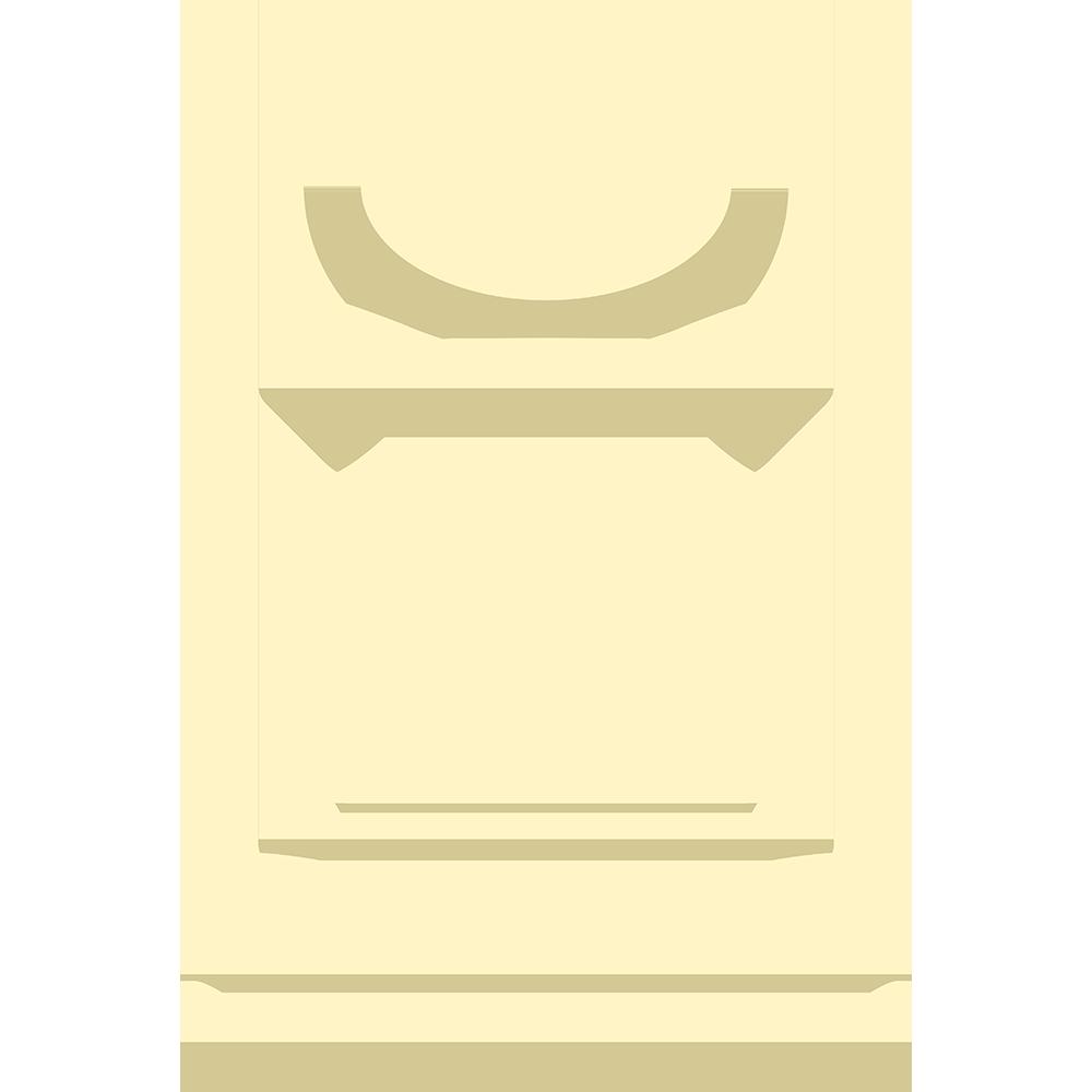 チェスの白駒(ポーン)の無料イラスト