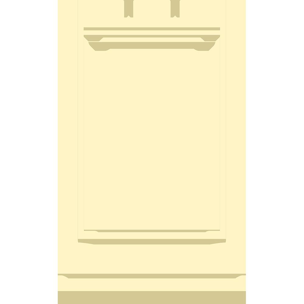 チェスの白駒(ルーク)の無料イラスト