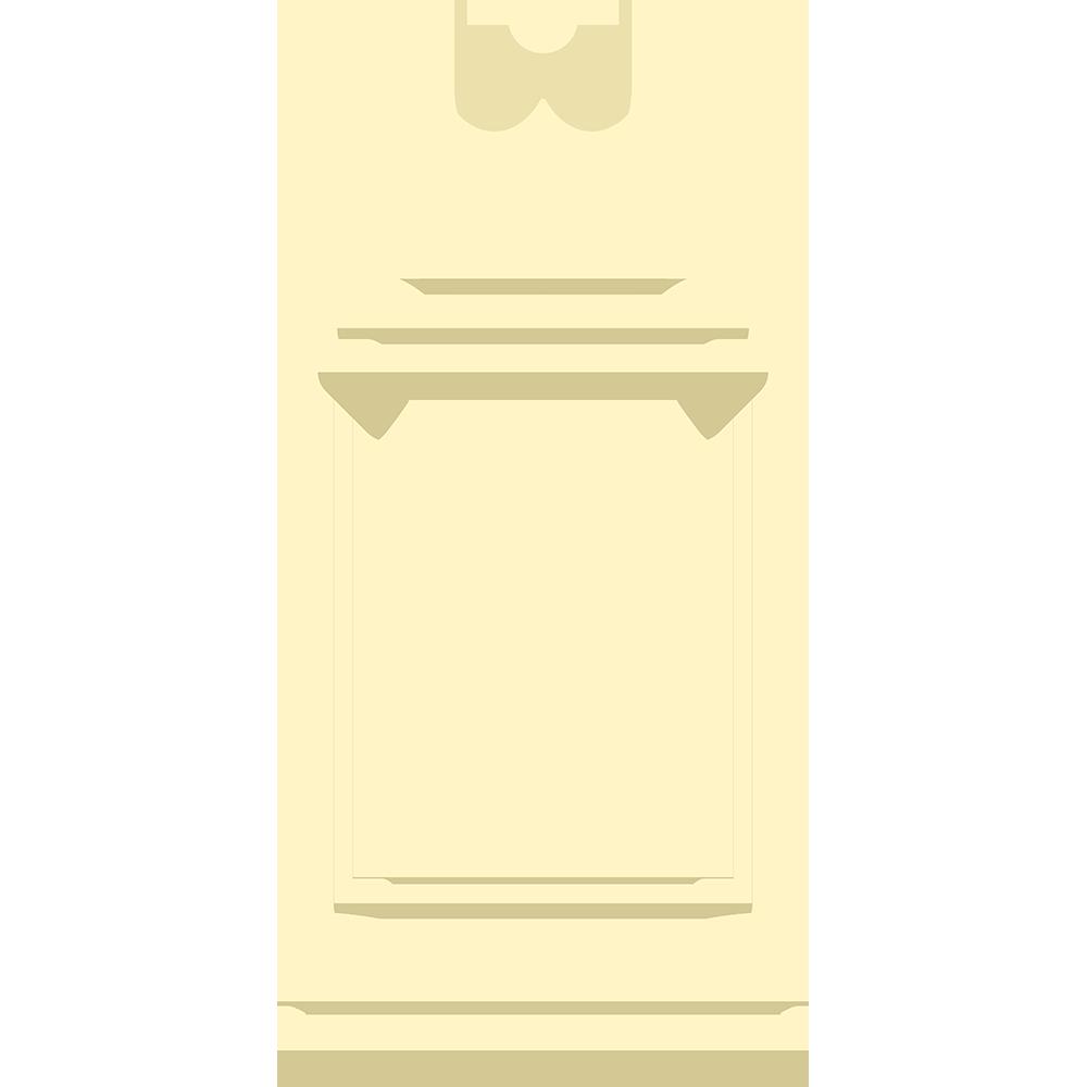 チェスの白駒(クイーン)の無料イラスト