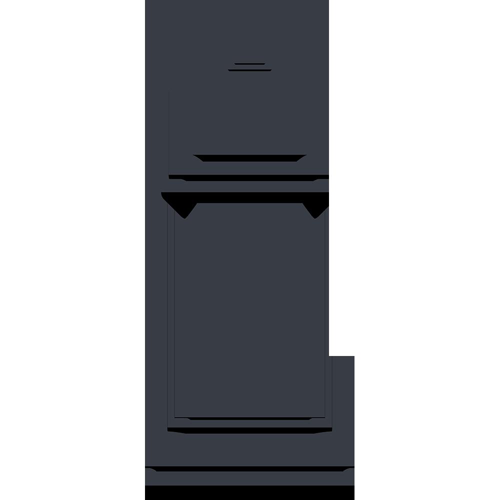 チェスの黒駒(キング)の無料イラスト