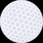 ゴルフボールの無料イラスト