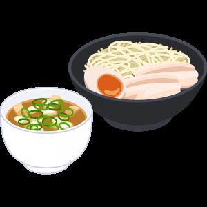 つけ麺の無料イラスト