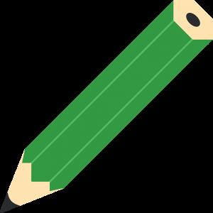 鉛筆の無料イラスト