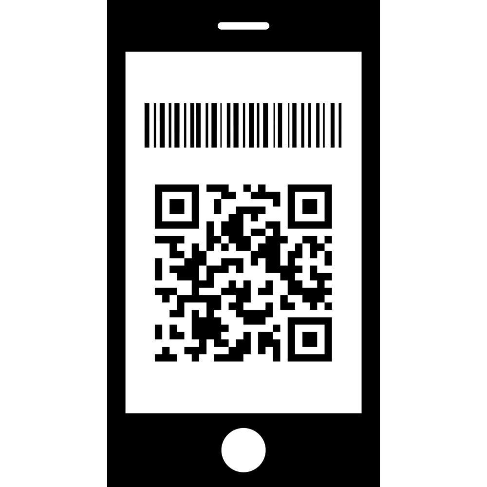 アプリ決済(キャッシュレス)の無料イラスト