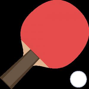 卓球:シェークハンドラケット