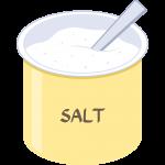 塩の無料イラスト
