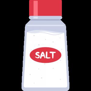 塩(瓶)の無料イラスト