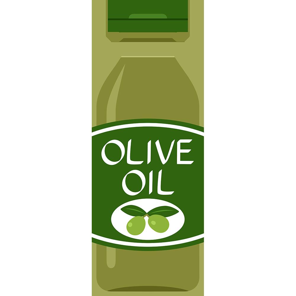 オリーブオイルの無料イラスト