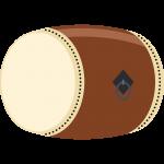 和太鼓の無料イラスト