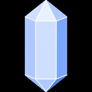 水晶(クリスタル) | 無料イラスト&かわいいフリー素材集 ねこ画伯コハクちゃん