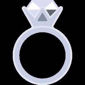 婚約指輪の無料イラスト