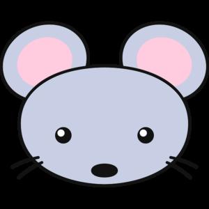 ネズミの顔の無料イラスト