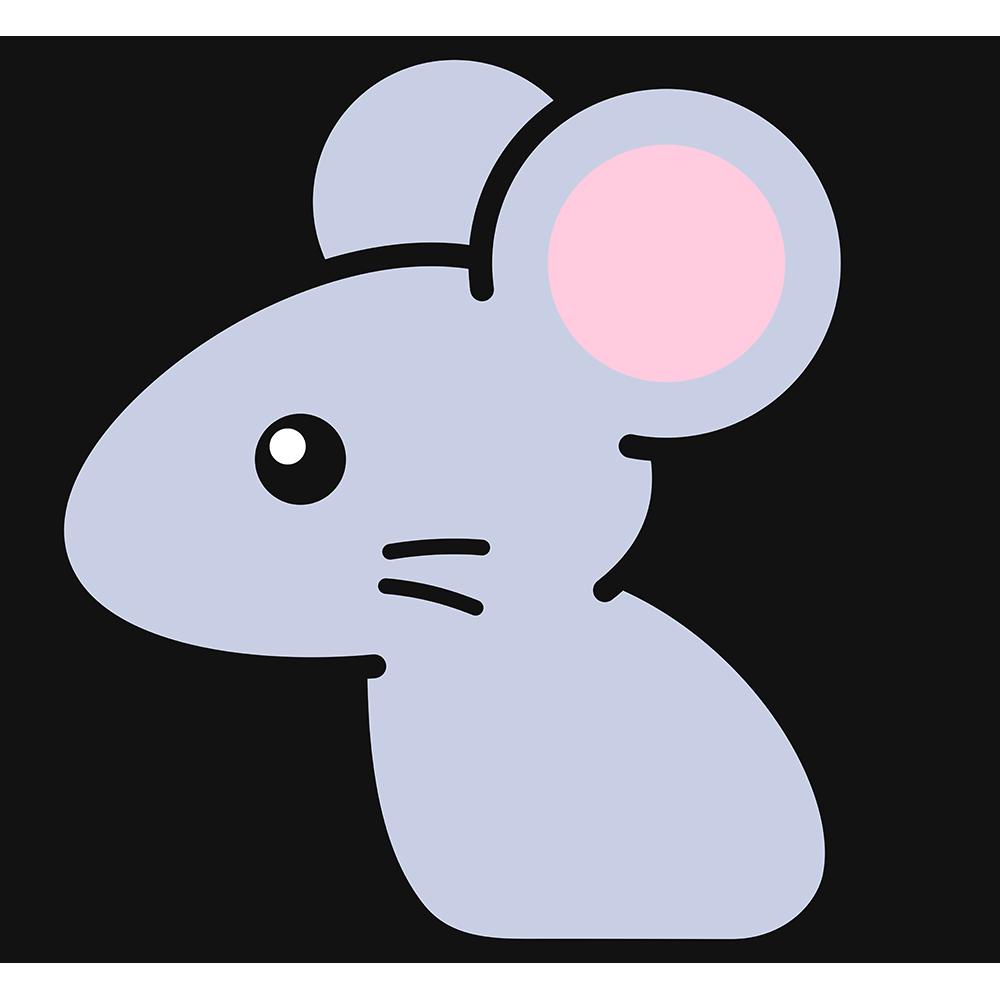 ネズミの無料イラスト