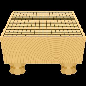 囲碁(碁盤)の無料イラスト