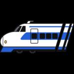 新幹線の無料イラスト