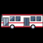 バスの無料イラスト