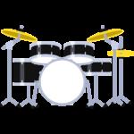 ドラムの無料イラスト