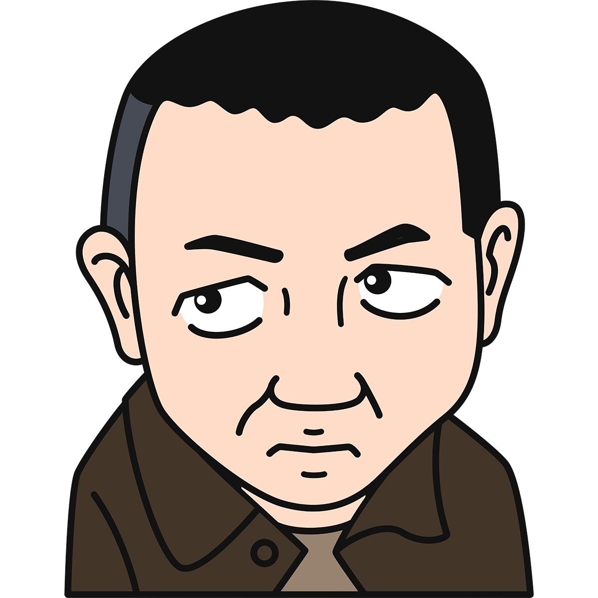 宮沢賢治の無料イラスト