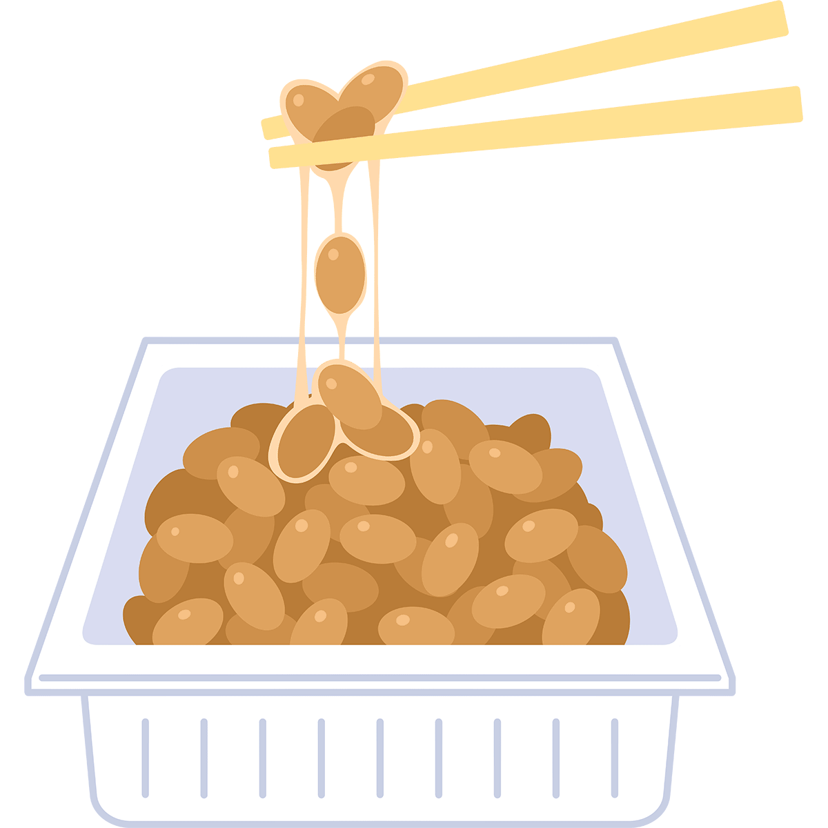 納豆の無料イラスト