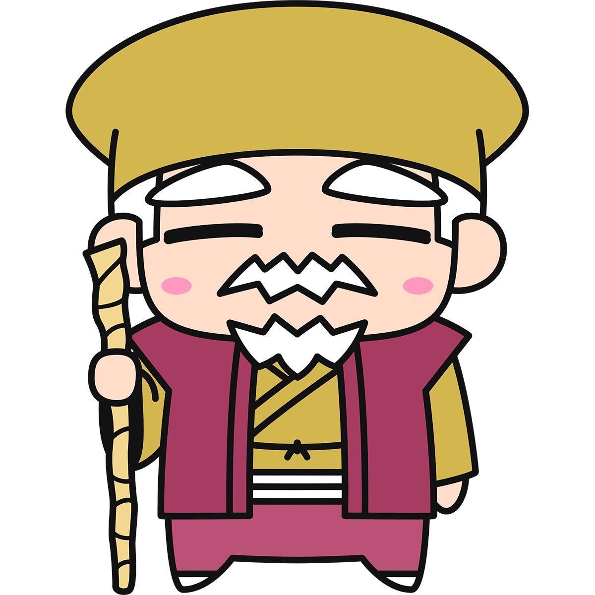 水戸黄門(徳川光圀)の無料イラスト