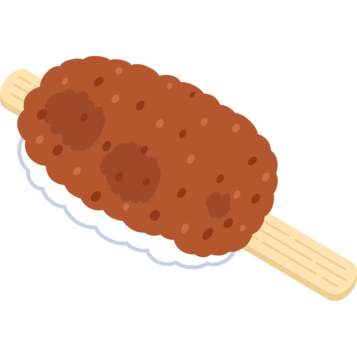 五平餅の無料イラスト