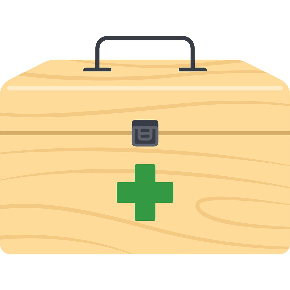 救急箱の無料イラスト
