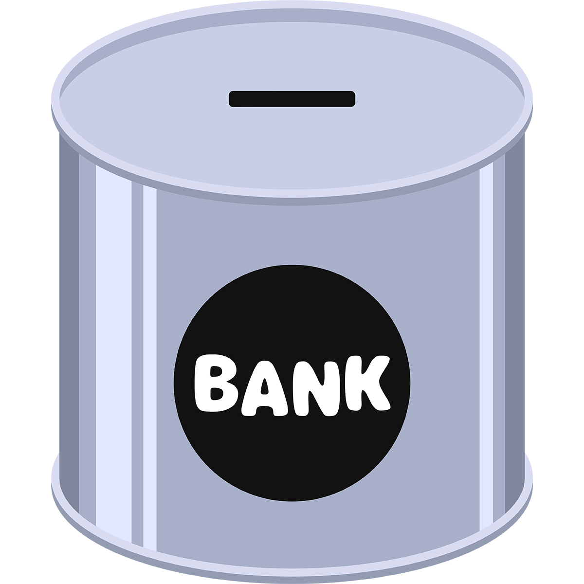 貯金箱の無料イラスト