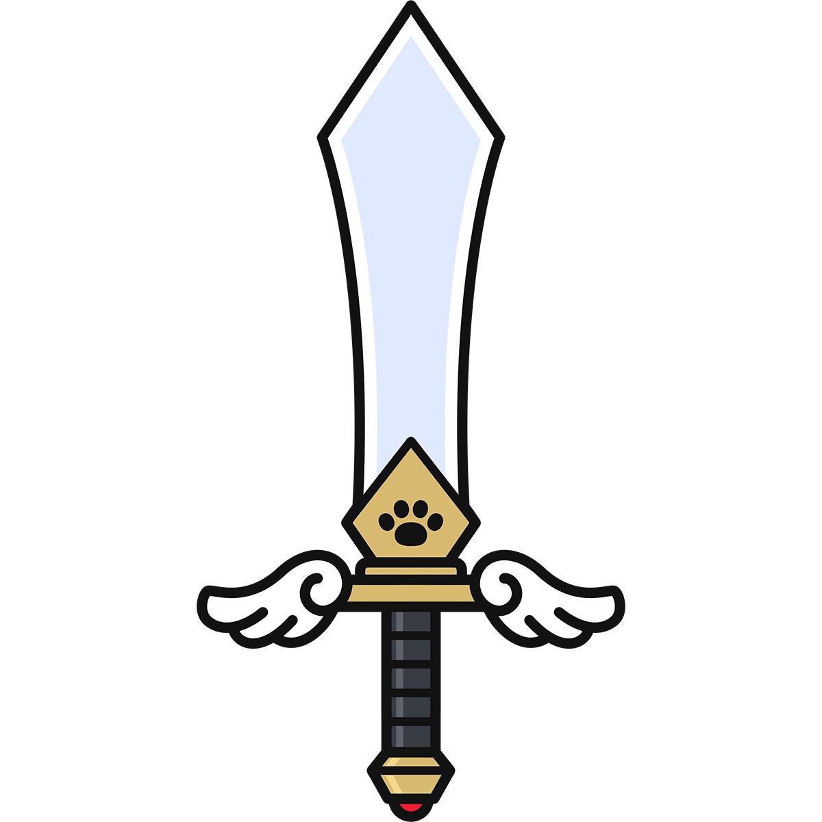 剣の無料イラスト