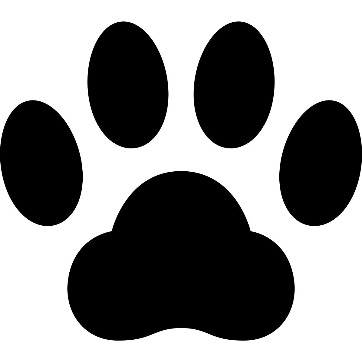 【アイコン】猫の肉球の無料イラスト