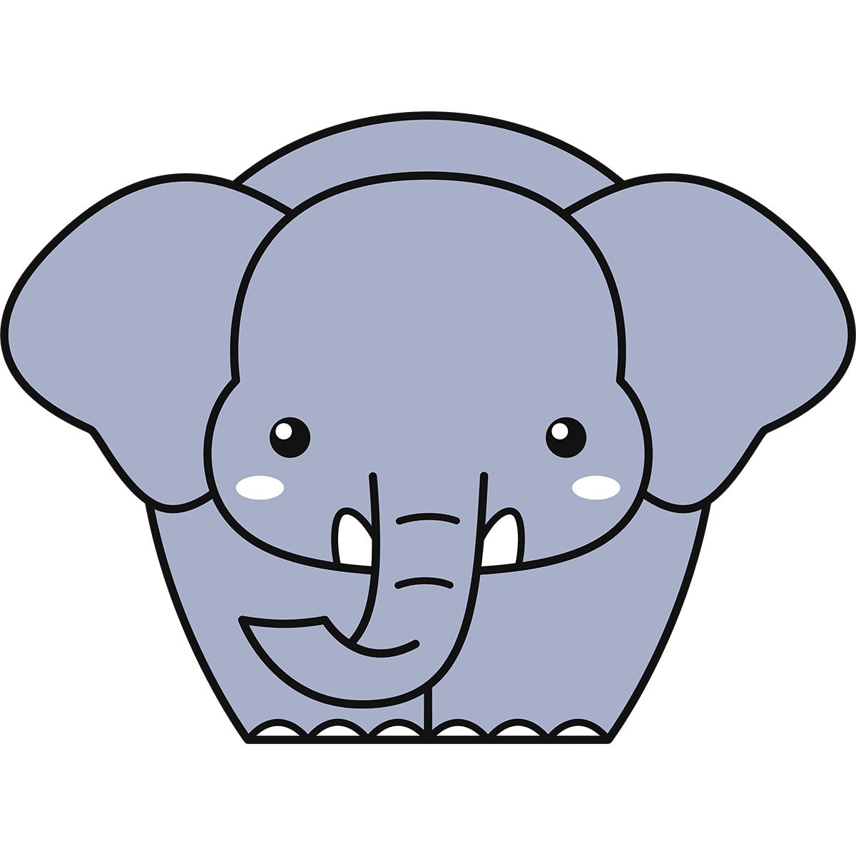 ゾウの無料イラスト