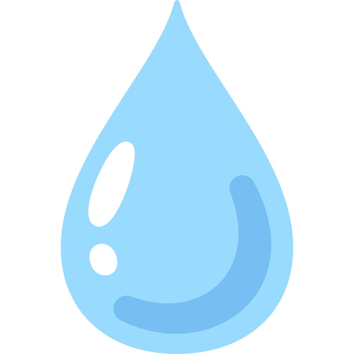 水の無料イラスト