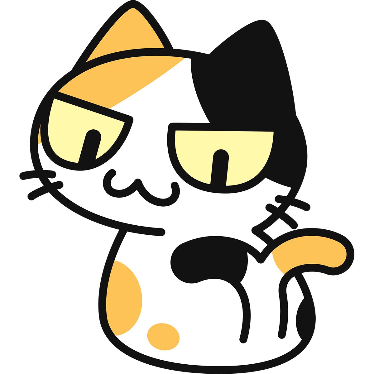 猫又の無料イラスト