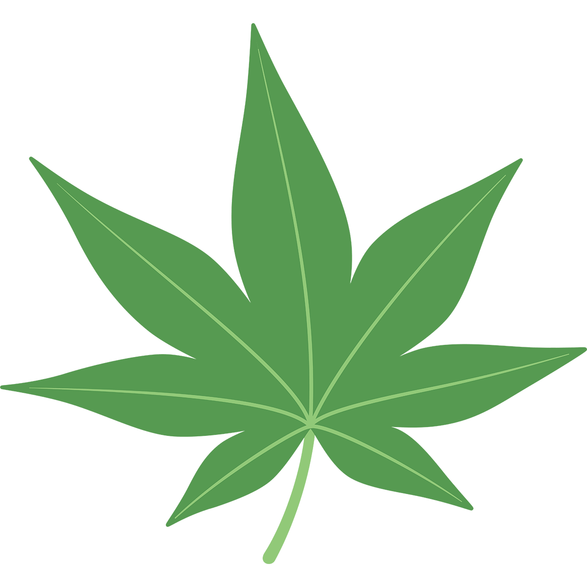 モミジの葉の無料イラスト