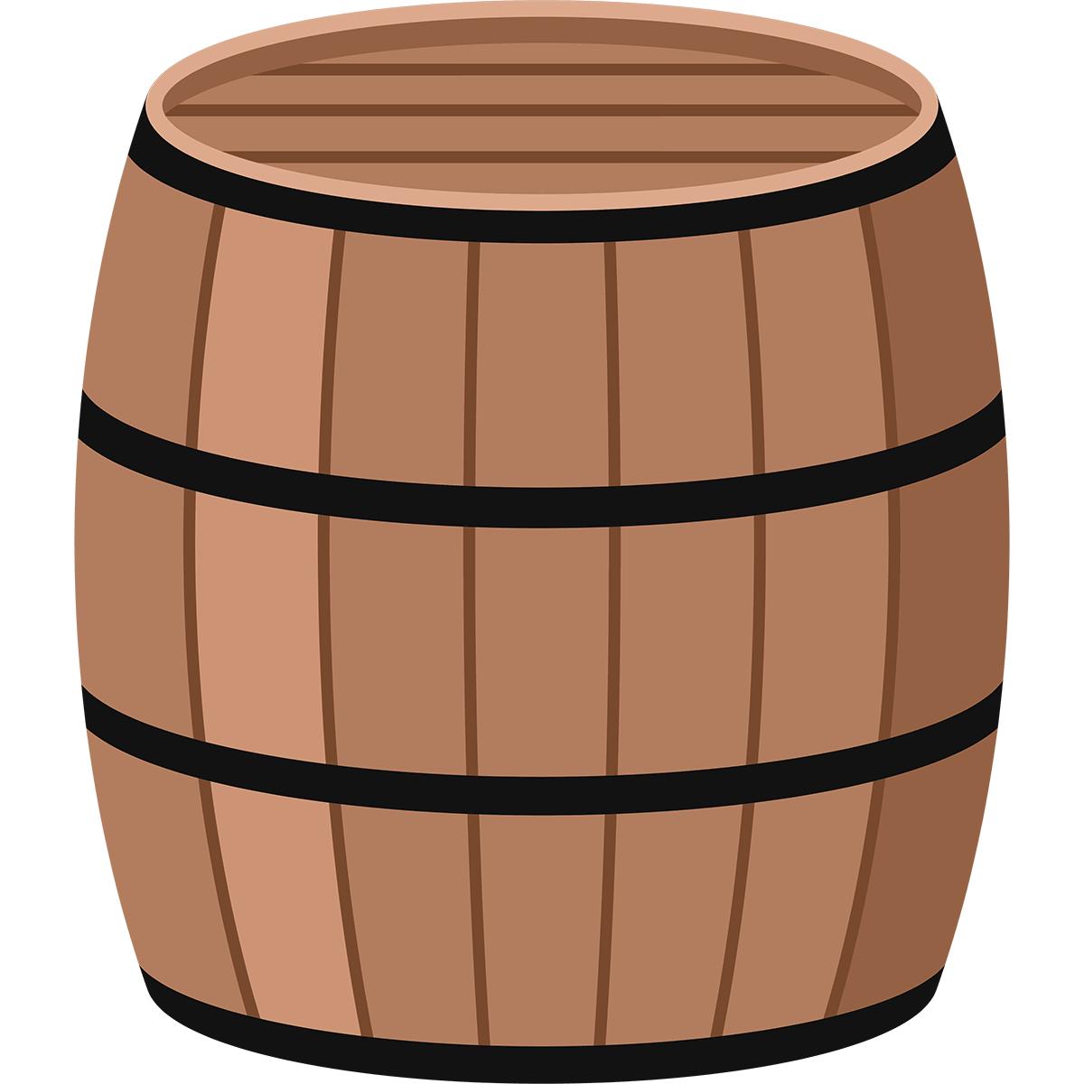 樽の無料イラスト
