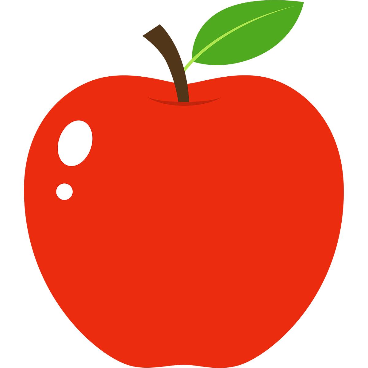 リンゴの無料イラスト