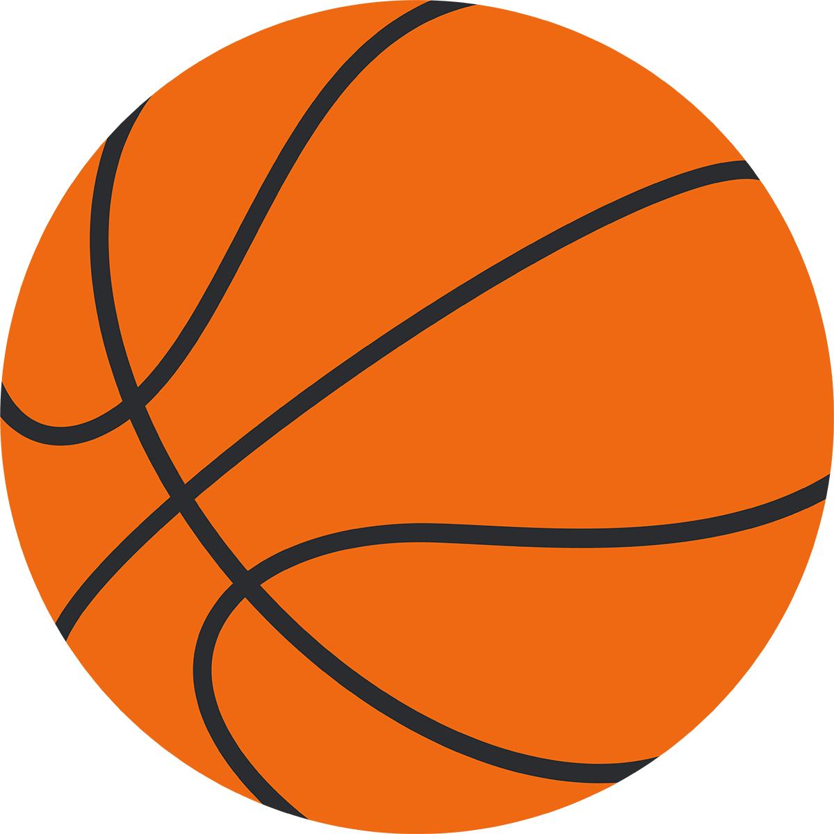 バスケットボールの無料イラスト