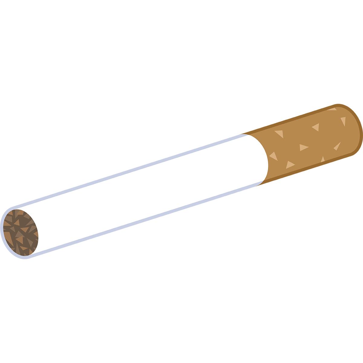 タバコの無料イラスト