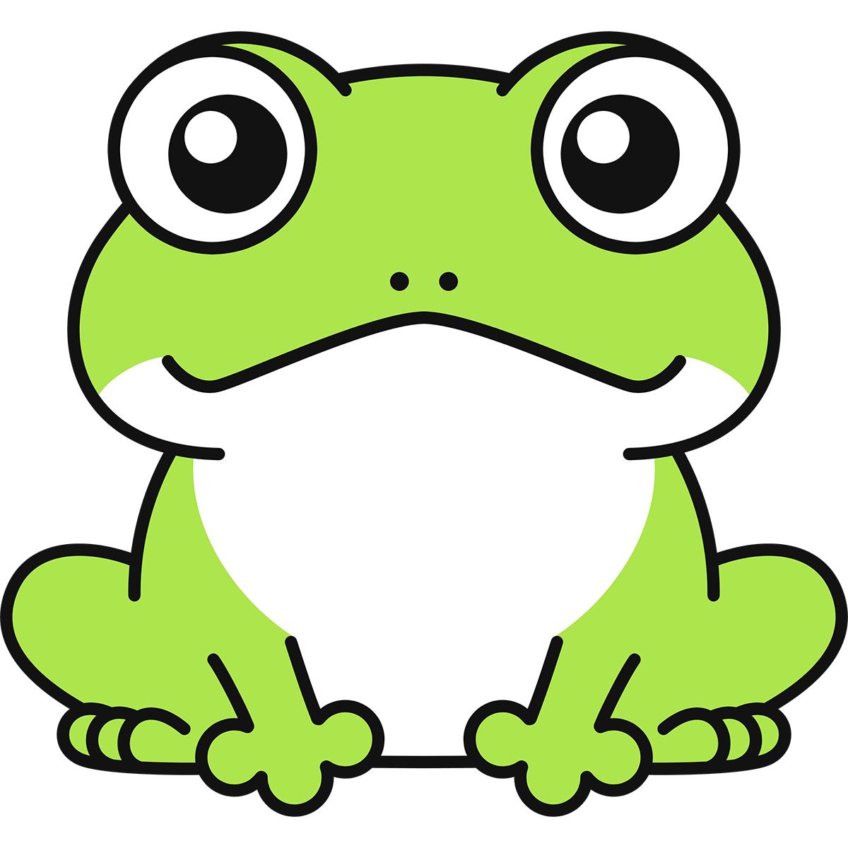 カエルの無料イラスト