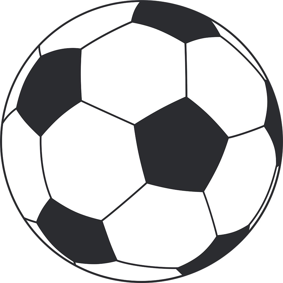 サッカーボールの無料イラスト
