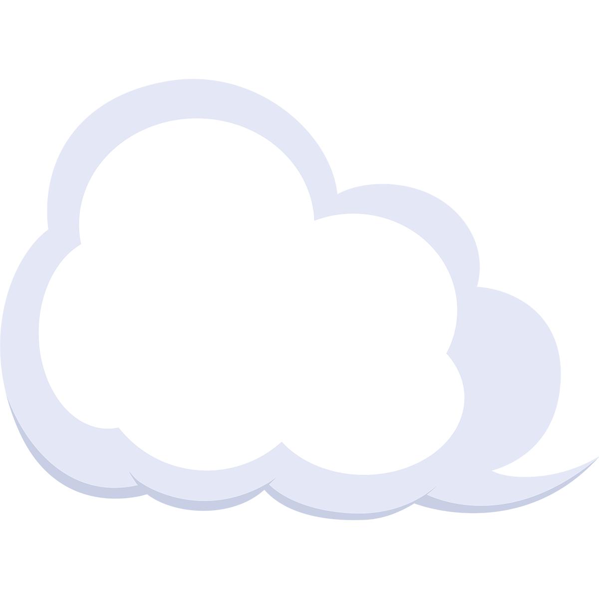 雲の無料イラスト