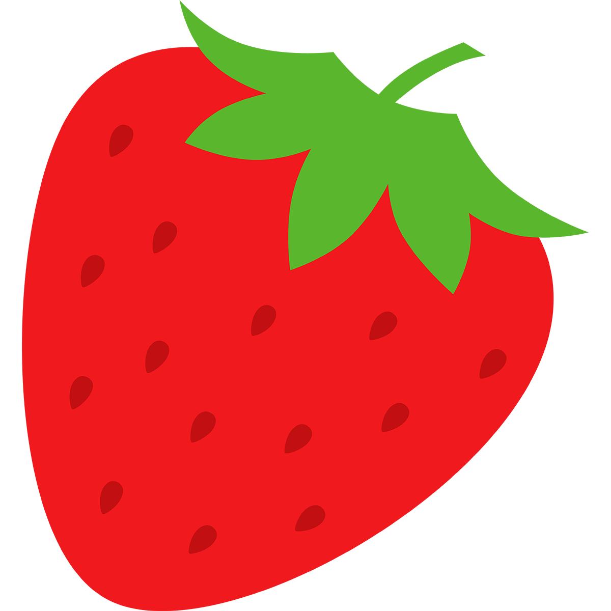 イチゴの無料イラスト