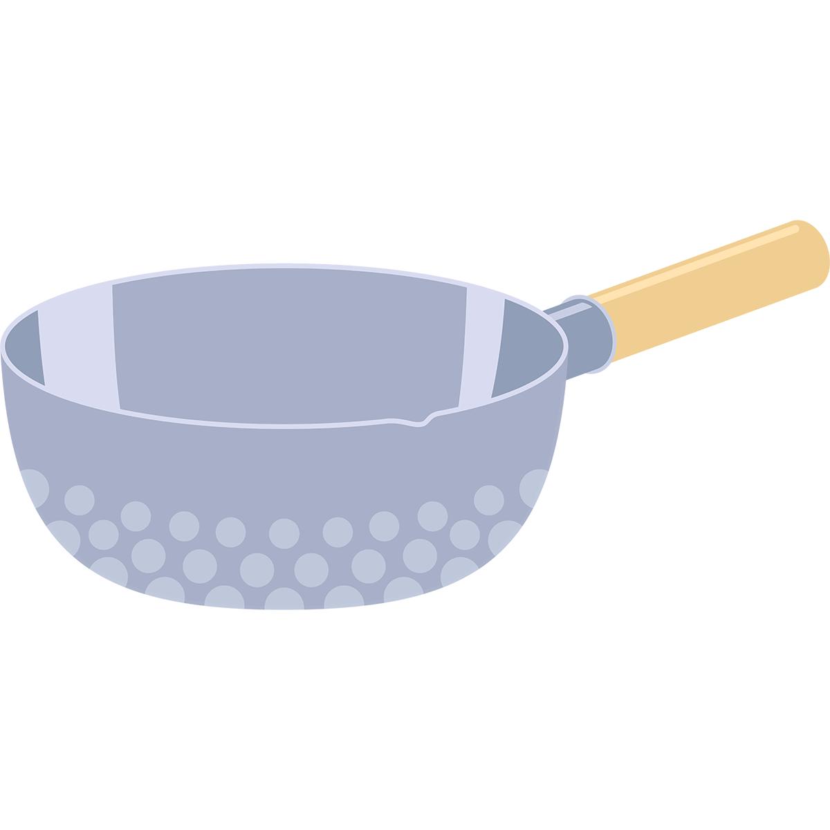 手鍋の無料イラスト