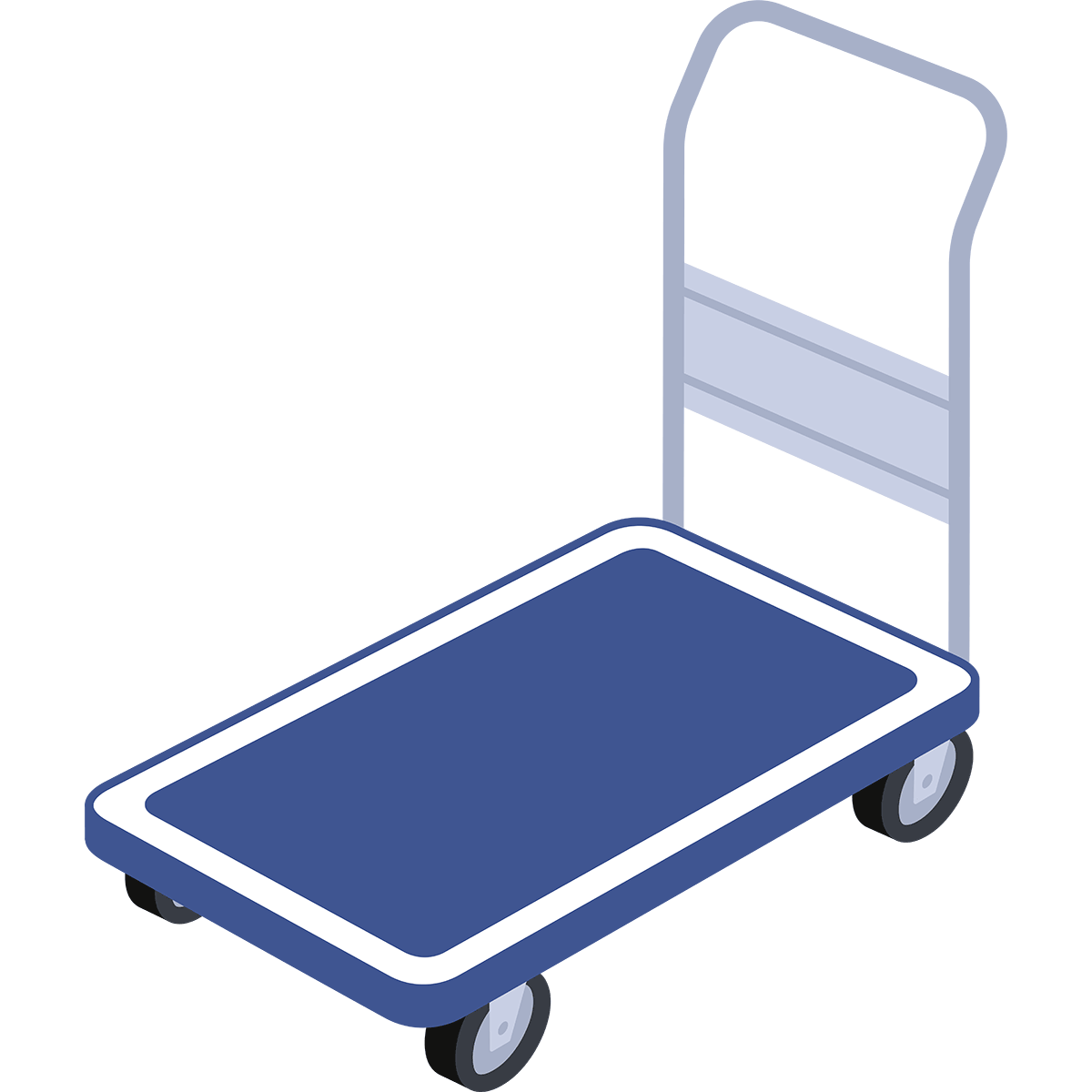 台車の無料イラスト