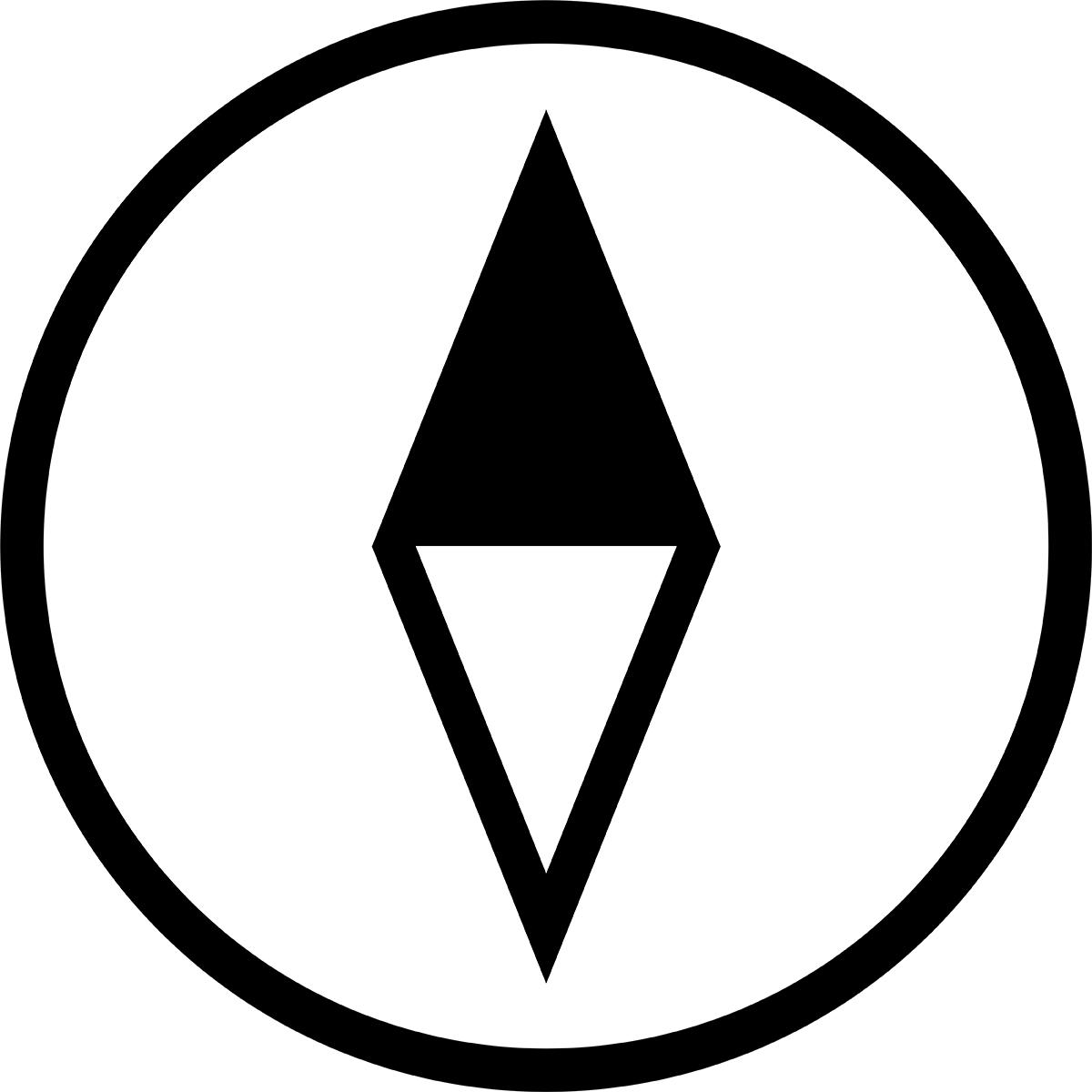 【アイコン】方位磁石の無料イラスト