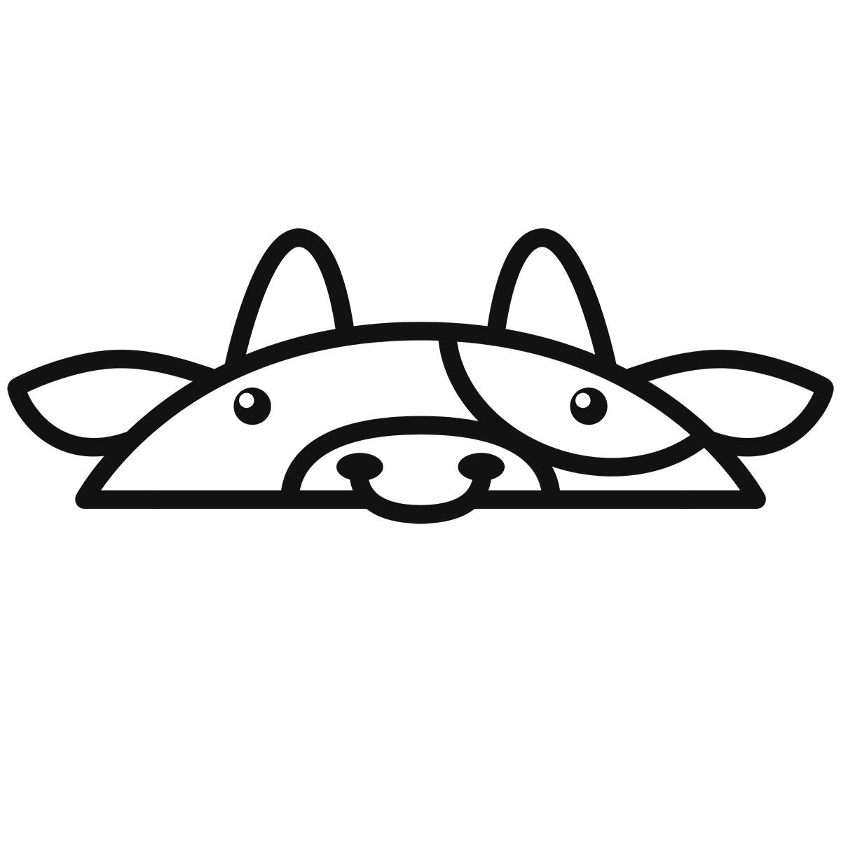 干支:ウシ・牛・丑(1)の無料イラスト