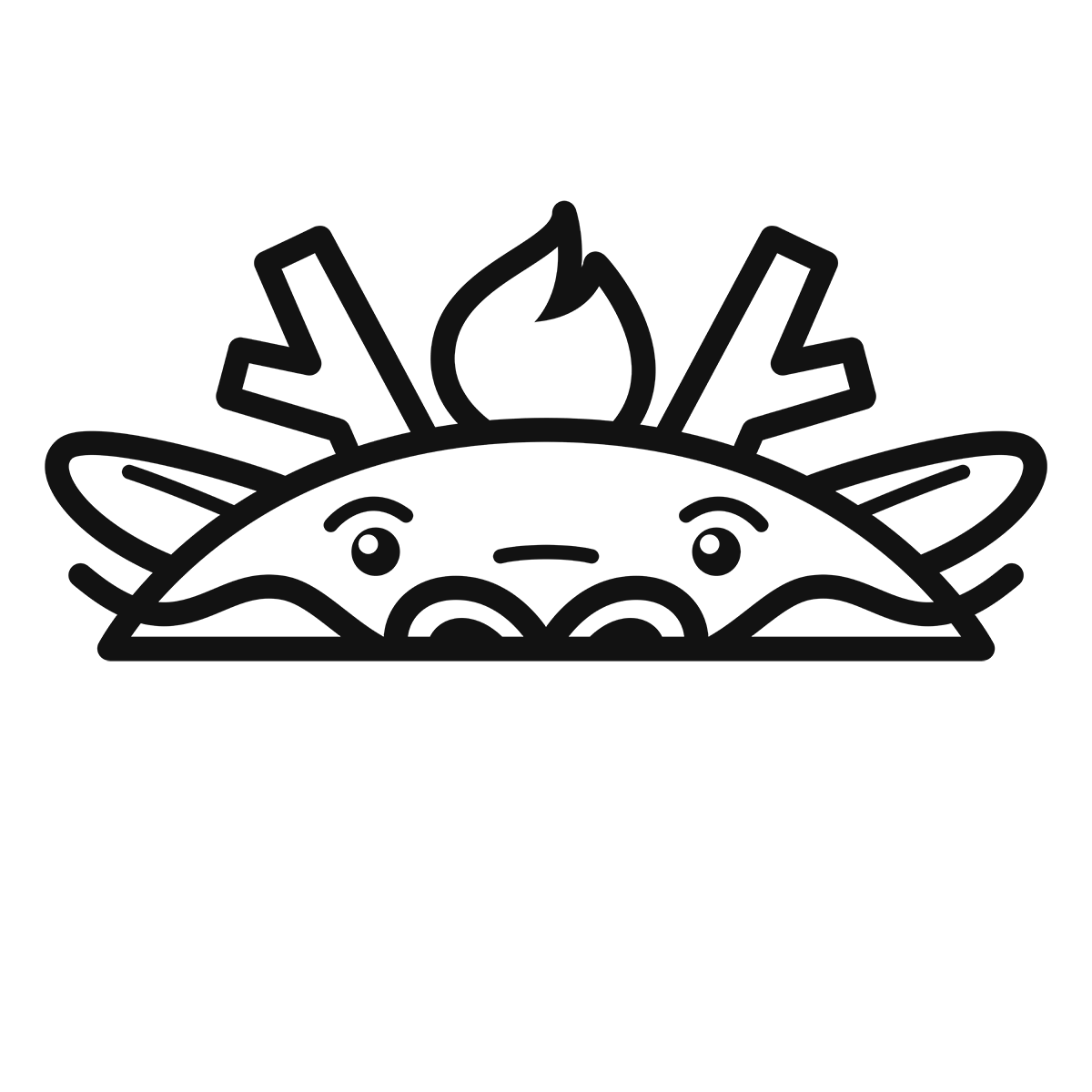 干支:龍・辰(1)の無料イラスト