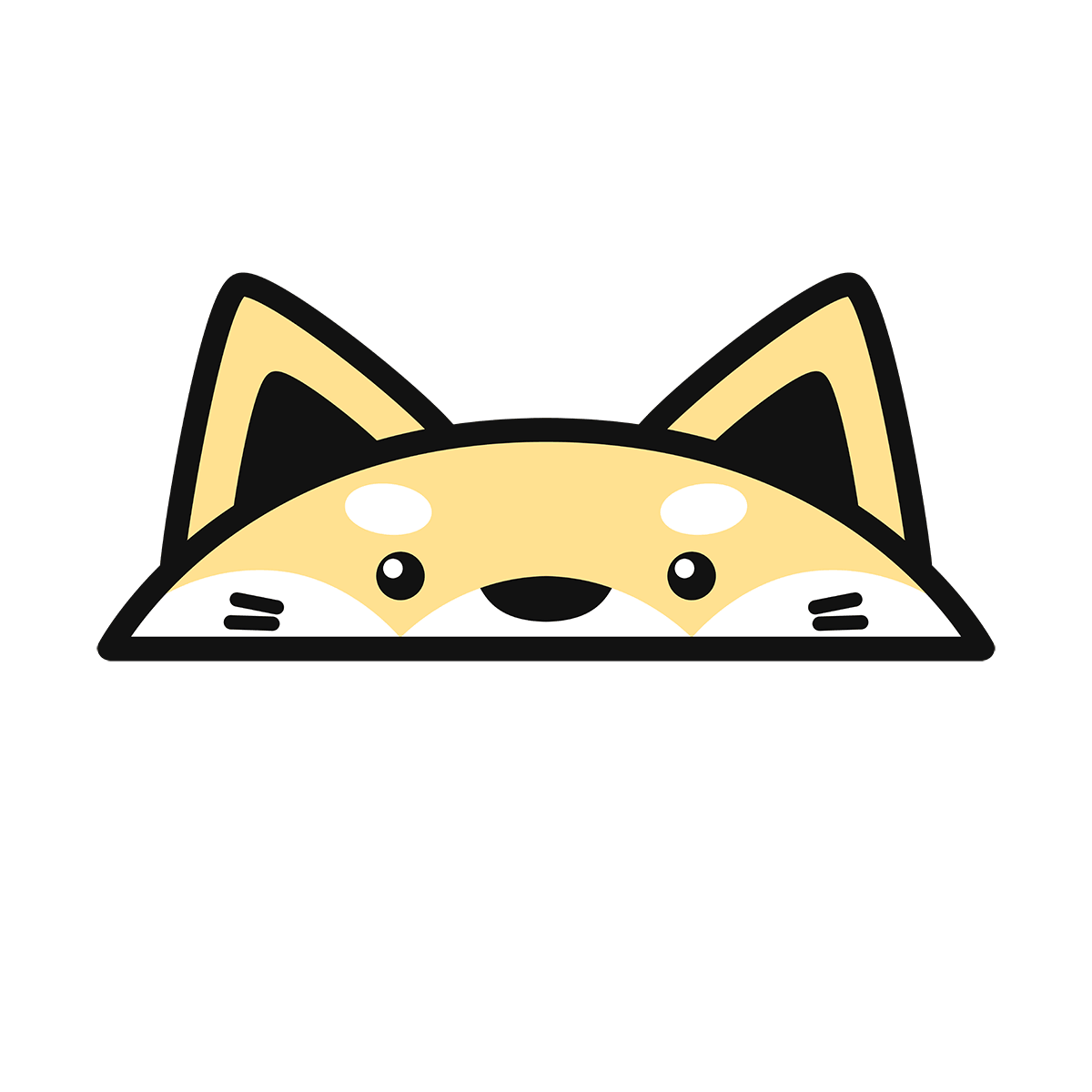 干支:犬・戌(2)の無料イラスト