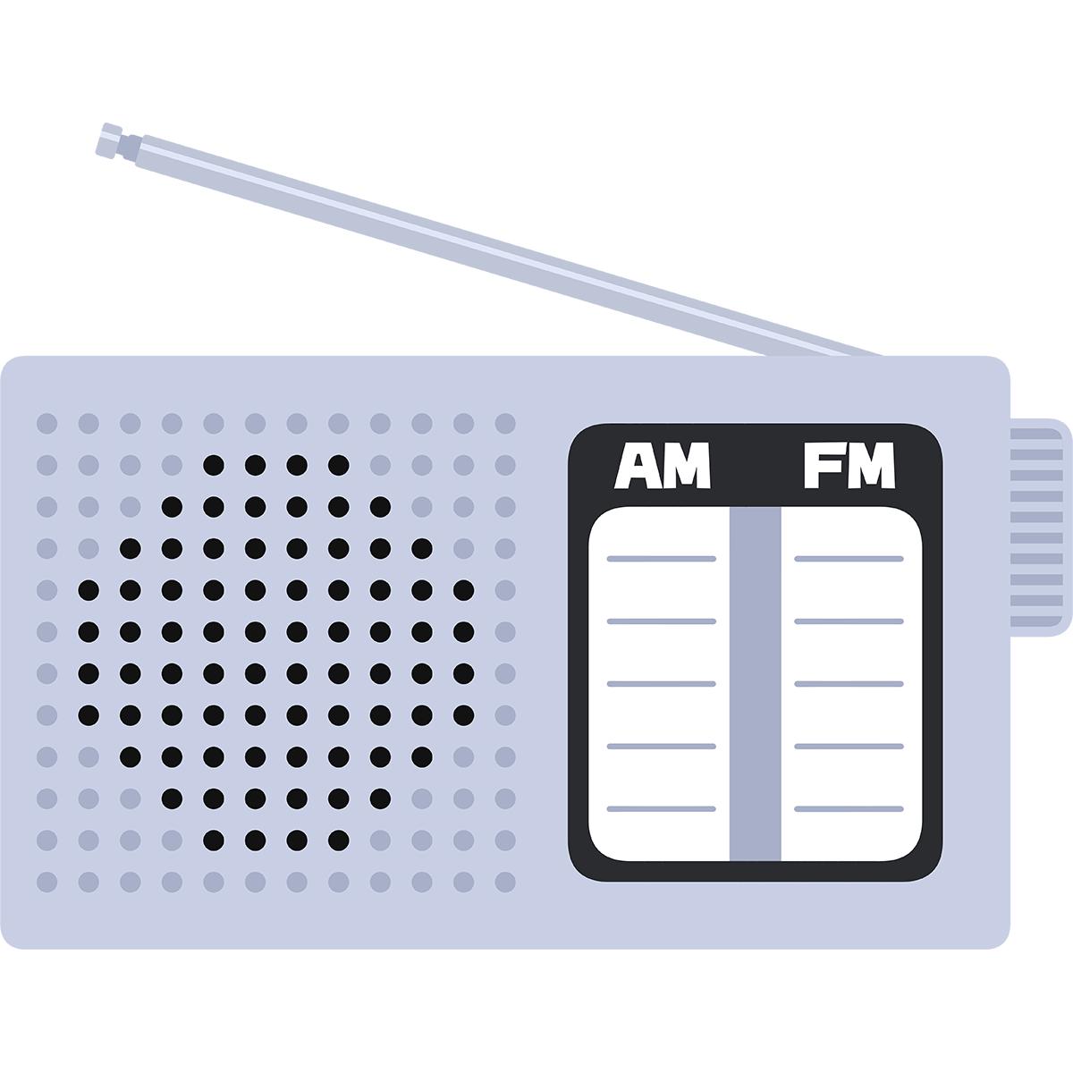 ラジオの無料イラスト