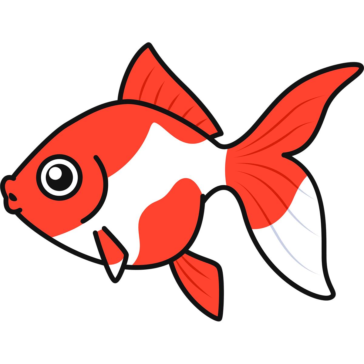 金魚の無料イラスト