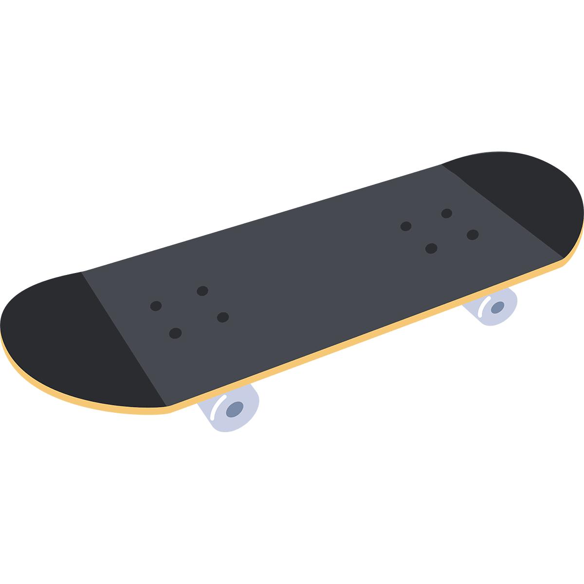 スケートボード(スケボー)の無料イラスト